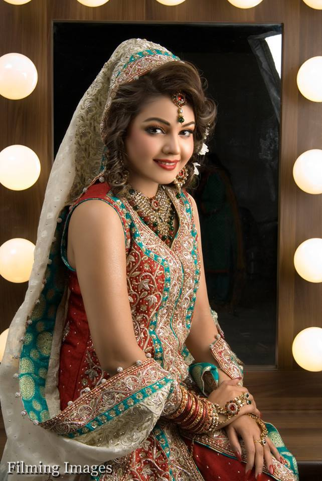 Rose Beauty Parlour Real Bridal Makeover 004