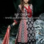 Gul Ahmed New Lawn Prints For Summer 2012 Volume 2 019