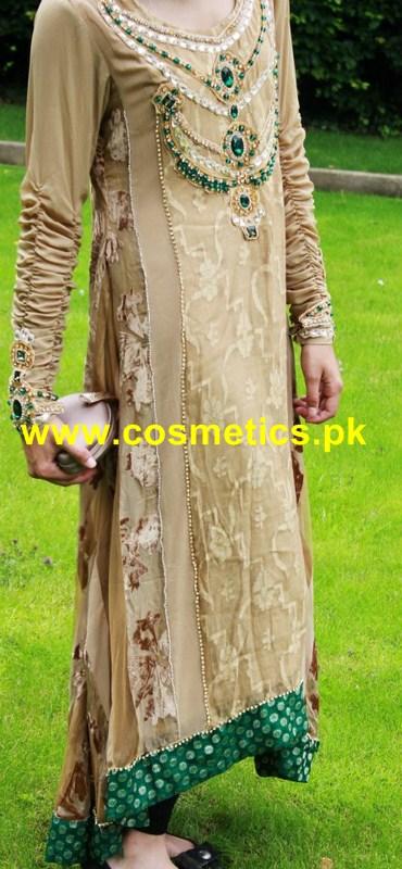 Braahtii Latest Eid Dresses 2012 Party Wear 010