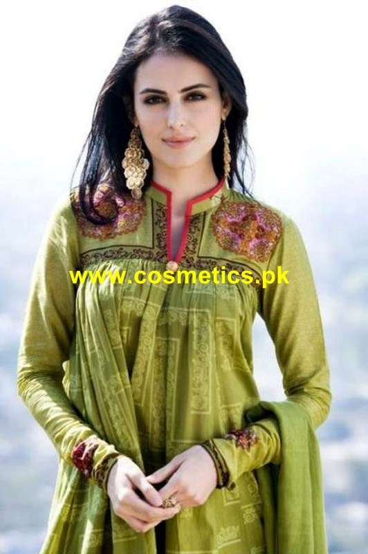 Five Star Clothing Latest Eid Collection 2012 Jacquard Dresses 009
