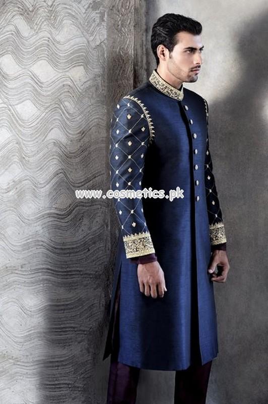 Amir Adnan Latest Sherwani Collection For Women 2012 13 001