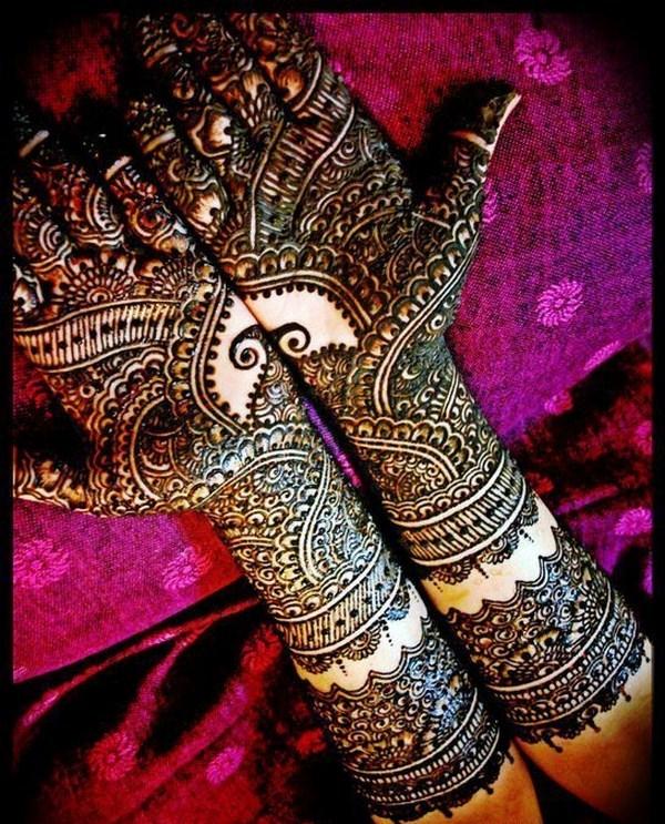 Bridal Mehndi Designs 2012 For Hands