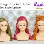 Classic Vintage Curls Hiar Styling By Kashif Aslam 002