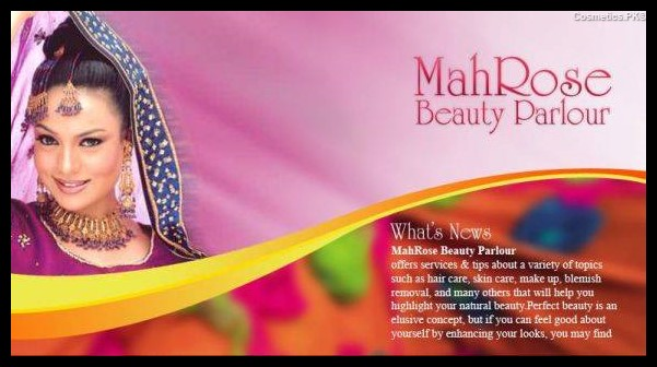 Mahrose Beauty Parlor Cover