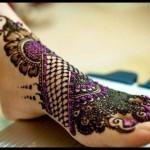 Mahrose Beauty Parlor Feet Mehndi Deisgns
