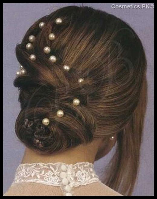 Mahrose Beauty Parlor Bridal Hairstyle