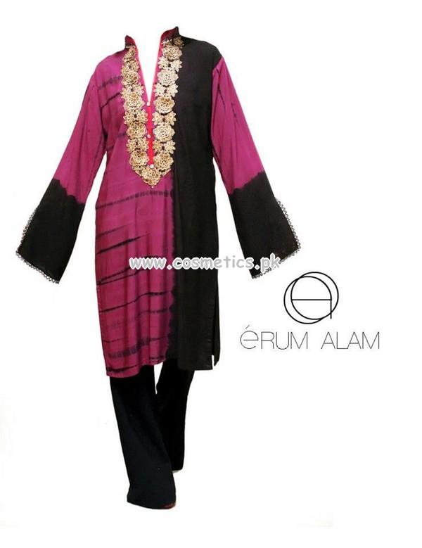 Erum Alam Latest Winter Tunic Designs 2012 014