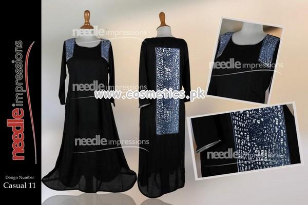 Latest Needle Impressions Eid Collecion 2012 002