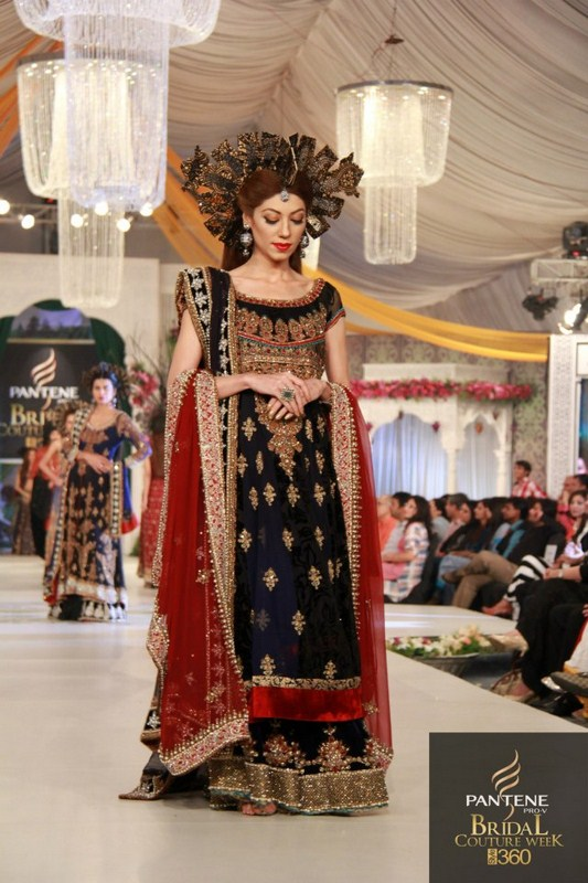 Ammar Shahid Bridal Collection 2012 At Pantene Bridal Couture Week