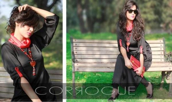 Corrogue Winter Dresses 2012-2013 For Winter 002