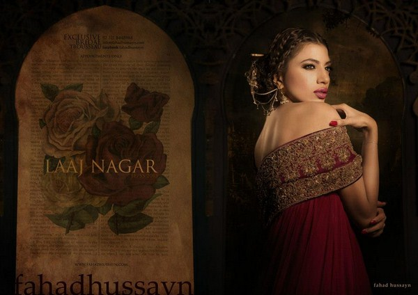 Fahad Hussayn Bridal Dresses 2012-2013 For Women  001