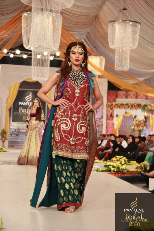 Kuki Concepts Collection At Pantene Bridal Couture Week 2012