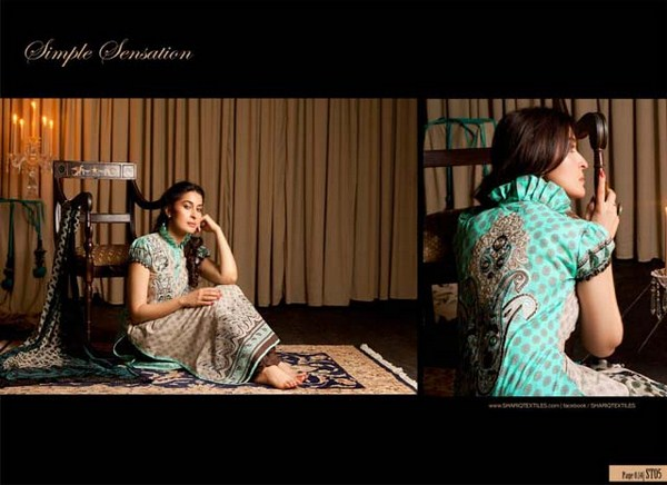 Shariq Textiles Winter Khaddar Dresses 2012-2013 For Women 0011