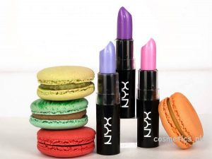 NYX Cosmetics Macaron Lippies Collection 2014