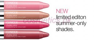Chubby Stick Moisturizing Lip Color Balm Summer 2014 – CLINIQUE