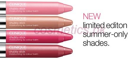 Chubby Stick Moisturizing Lip Color Balm summer 2014