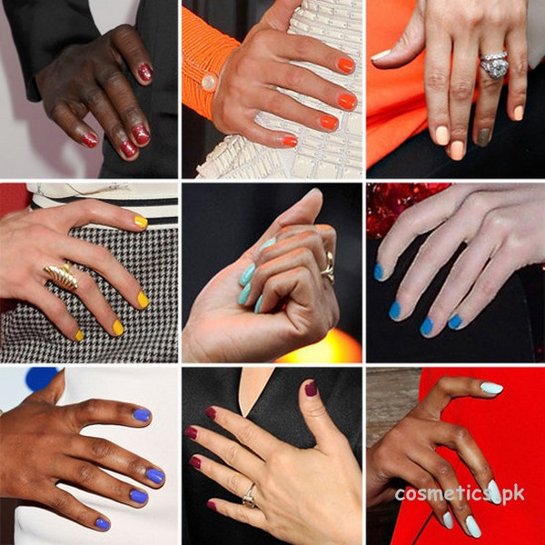summer nail color trend for skin tone 2014