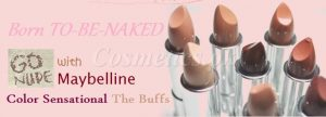 Maybelline – BORN-TO-BE-NAKED SHADES – New 2014
