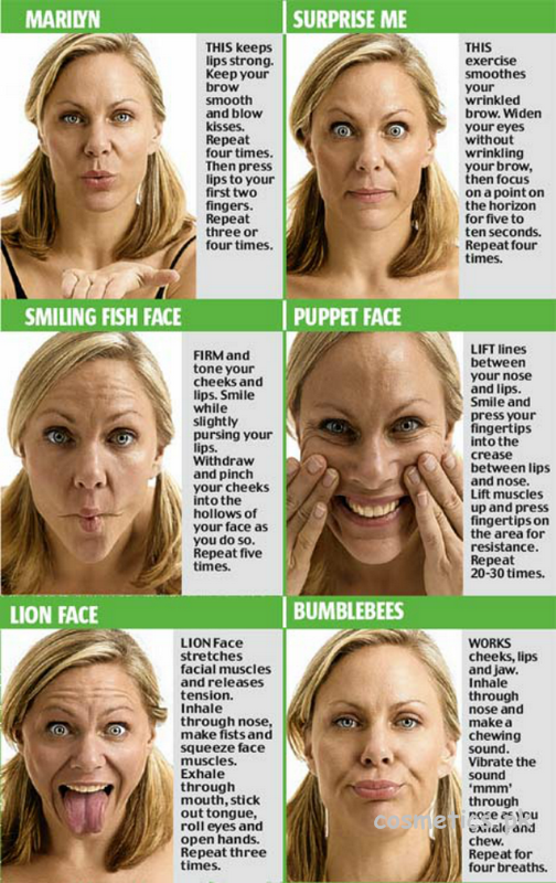 14 Best Yoga Exercises For Slimming Your Face 10