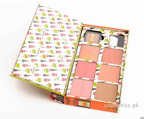 Benefit Cheeky Sweet Spot Box O' Blushes Review and Swatches 1