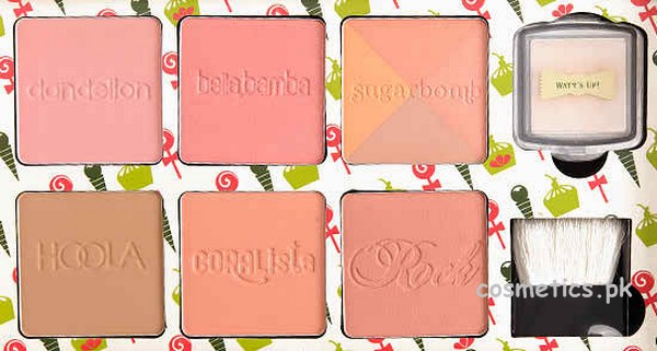Benefit Cheeky Sweet Spot Box O' Blushes Review and Swatches 2