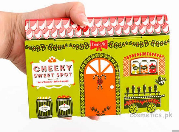 Benefit Cheeky Sweet Spot Box O' Blushes Review and Swatches 3