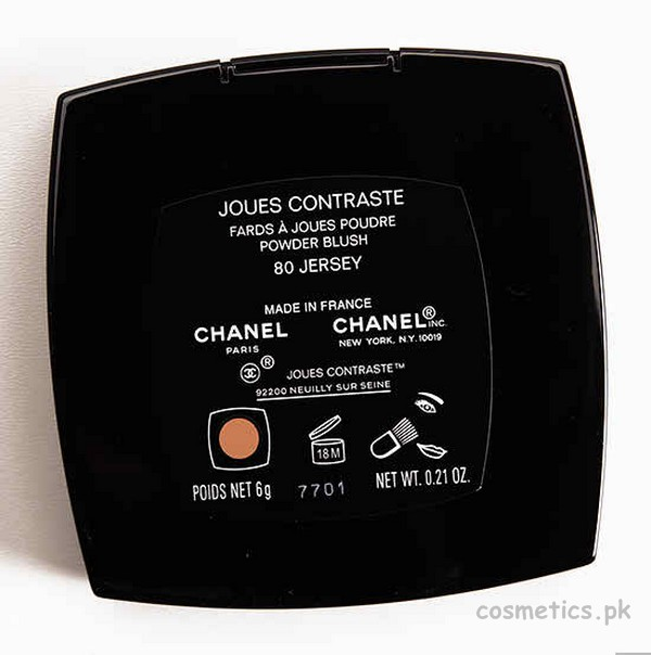 Chanel Jersey (80) Joue Contraste Blush On - Review, Swatches and Price 4