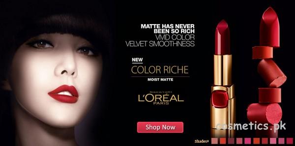 L'Oreal Alcohol Lipstick Brand 5