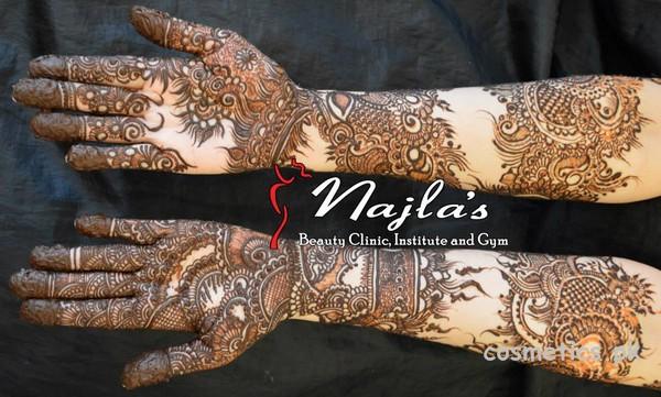 Bridal Mehndi Rates In Karachi : Najla s beauty clinic and institute mehndi