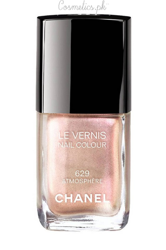 Nail Polish Colors For Winter 2015 Chanel Pearlscent Pink