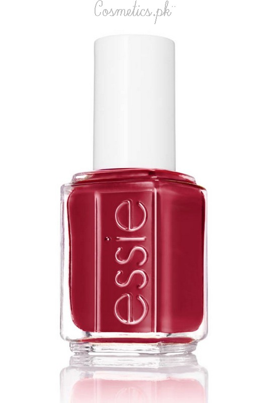 Nail Polish Colors For Winter 2015 Essie Ruby Red