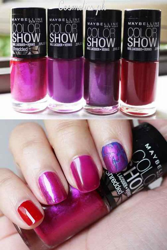 Maybelline Colorshow Nail Polish Review | Shades #7
