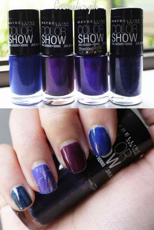Maybelline Colorshow Nail Polish Review | Shades #6