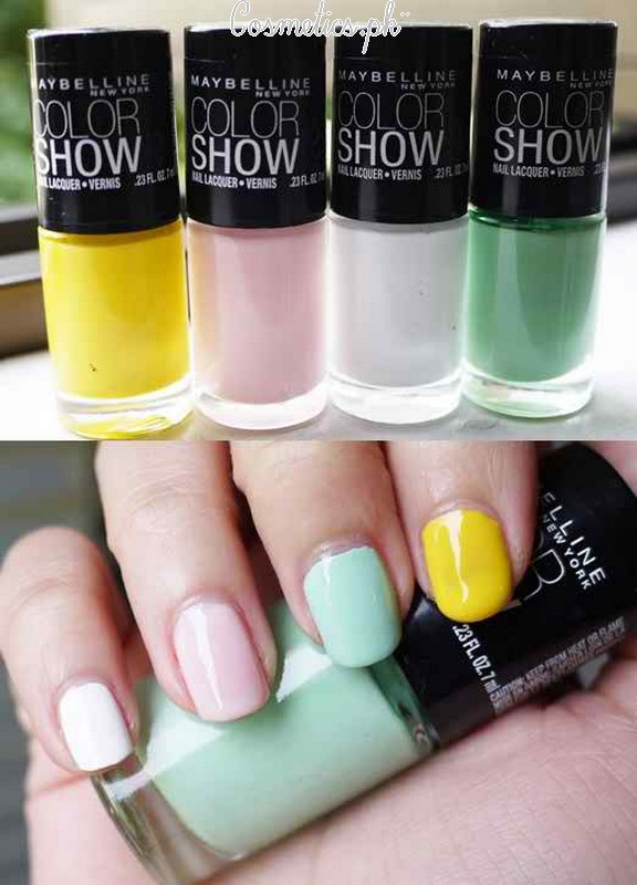 Maybelline Colorshow Nail Polish Review | Shades #5