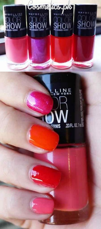 Maybelline Colorshow Nail Polish Review | Shades #1