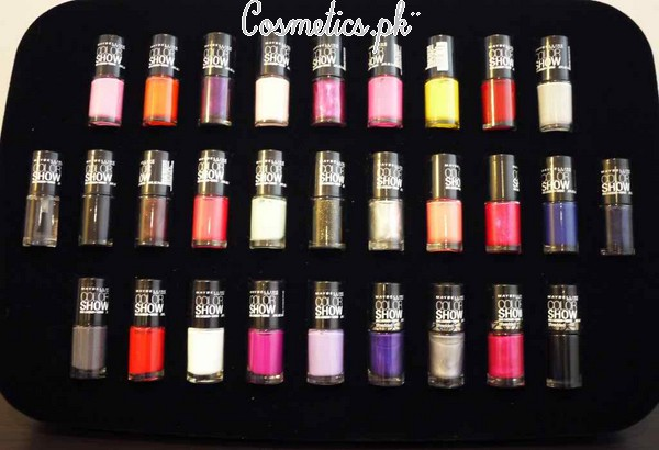 Maybelline Colorshow Nail Polish Review | Shades Box