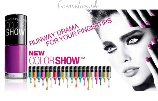 Maybelline Colorshow Nail Polish Review