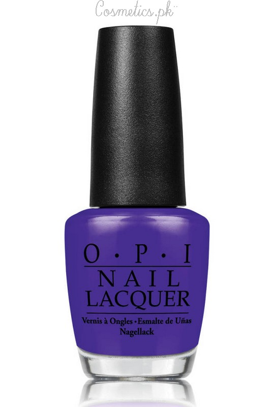 Nail Polish Colors For Winter 2015 O.P.I Bold Violet