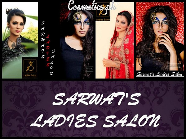 Sarwat's Ladies Salon Services And Make Up Charges