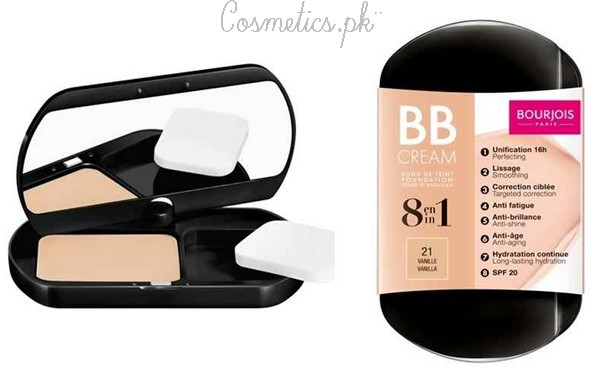 Top 10 BB Creams In Pakistan - Bourjois 8 in 1 BB Cream