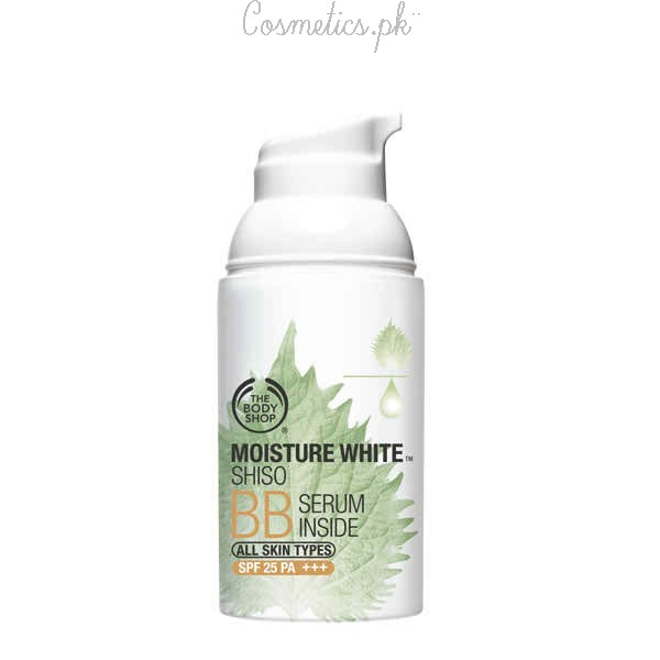 Top 10 BB Creams In Pakistan - The Body Shop Moisture White Shiso BB Cream