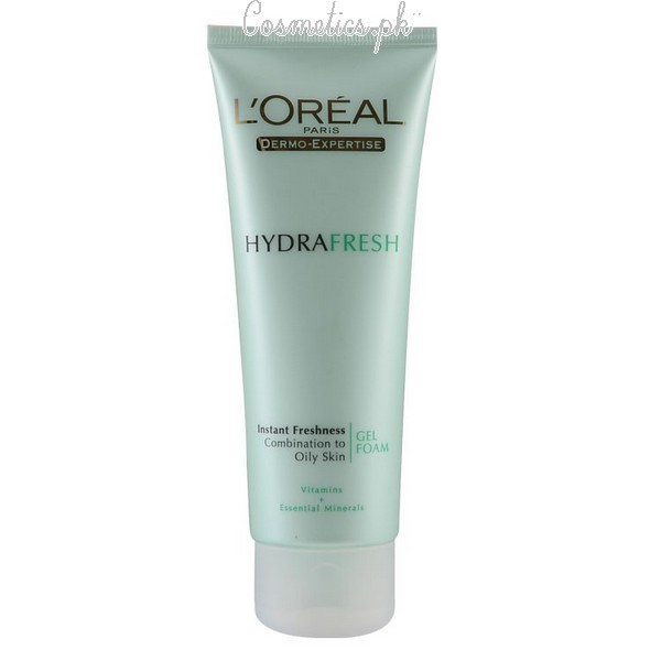 Top 10 Best Face Wash For Oily Skin - L'Oreal Hydrafresh Face Wash