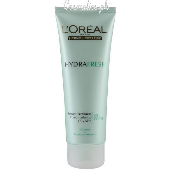 Top 10 Best Face Wash For Oily Skin - L Oreal Hydrafresh Face Wash 9ed152e5ba