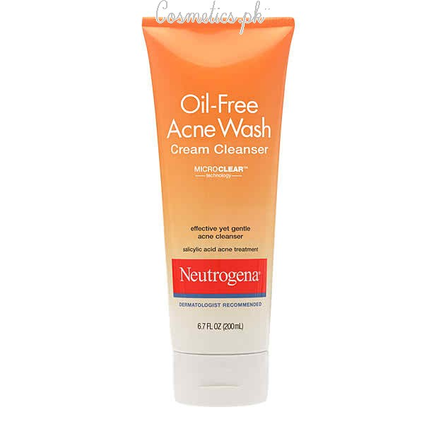Top 10 Best Face Wash For Oily Skin - Neutrogena Oil Free Face Wash