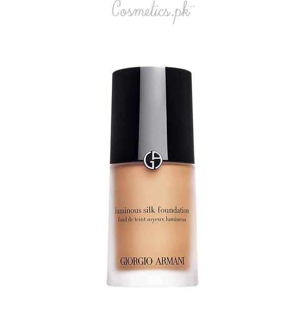 Top 10 Liquid Foundations With Price - Giorgio Armani Luminous Silk Foundation