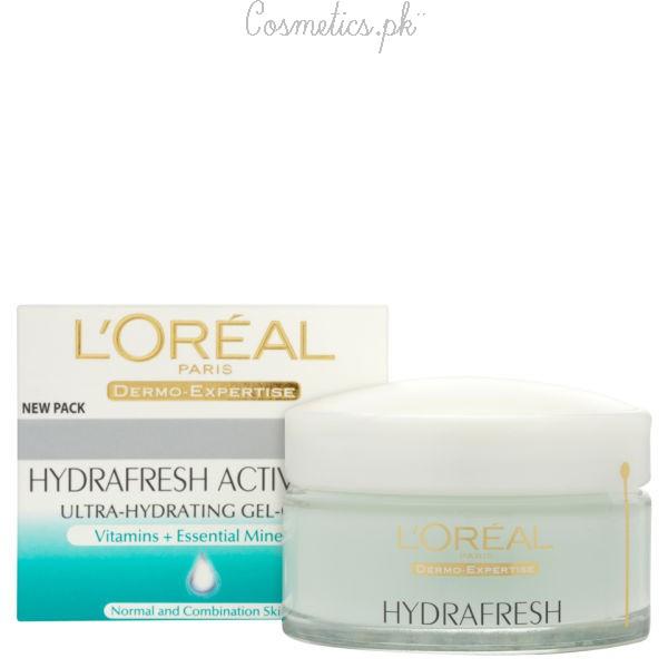 Top 10 Winter Creams For Dry Skin - L'Oreal Hydrafresh Cream