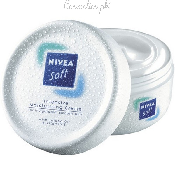 Top 10 Winter Creams For Dry Skin - Nivea Soft Moisturizer Cream