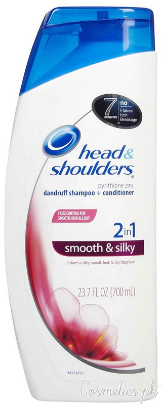 Top 5 Best Dandruff Shampoo - Head and Shoulders Smooth and Silky 2 in 1