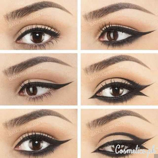 6 Different Eyeliner Techniques Video Cover Picture