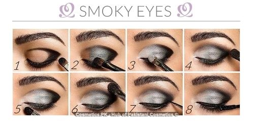 Intense Black Smokey Makeup Video Tutorial